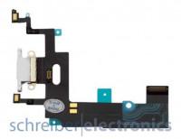 Apple iPhone XR Lade System Anschluss weiß