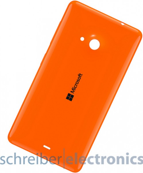 Lumia 535 Akkudeckel / Rückseite orange