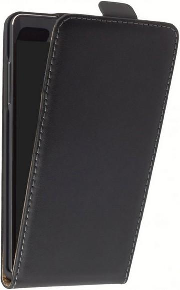 Samsung Galaxy A7 Klapp-Tasche (Flip-Case) schwarz
