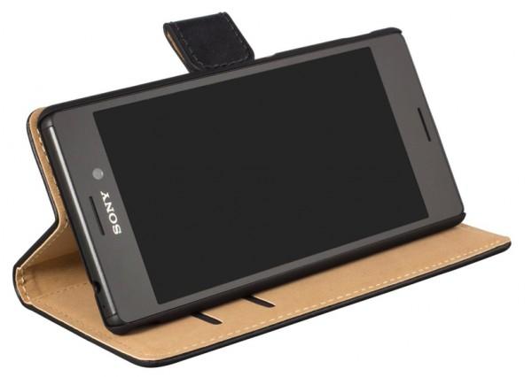 Sony Xperia M4 Aqua Flip-Tasche (seitlich aufklappbar,horizontal)