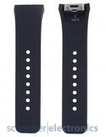 Samsung R720 Gear S2 Armband einteilig / Löcher Seite S dunkel grau