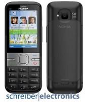 Nokia C5-00 5MP Handy schwarz