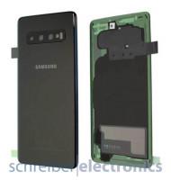 Samsung G973 Galaxy S10 Akkudeckel (Rückseite) Prism schwarz