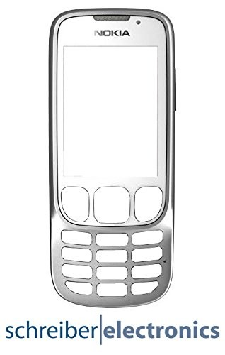 Nokia 6303 classic Frontcover (Cover Oberschale) weiss