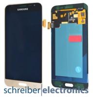 Samsung J320 Galaxy J3 (2016) Display mit Touchscreen gold