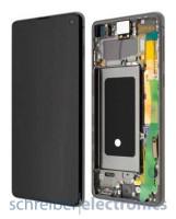 Samsung G973 Galaxy S10 Display mit Touchscreen Prism schwarz