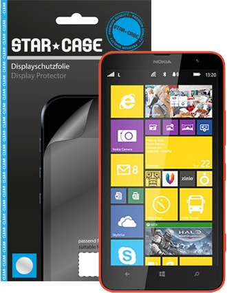 Display Schutzfolie Star-Case Clear Lumia 1320