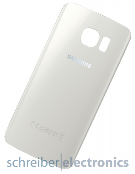 Samsung G925 Galaxy S6 edge Akkudeckel / Rückseite weiss